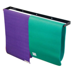 Wall Mounted Yoga Mat Rack - Premier Fitness Service