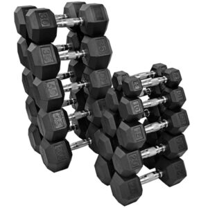 Rubber Hex Free Weights - Premier Fitness Service
