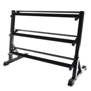 Commercial 3-Tier Free Weight Rack - Premier Fitness Service