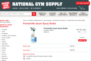 National Gym Supply Spotlight! - Premier Fitness Service