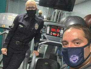 Premier Fitness Service is now proud to support LAPD NoHo! - Premier Fitness Service